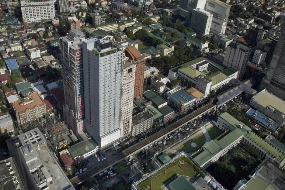 Torre Lorenzo condo in Vito Cruz, Malate, Manila Philippines